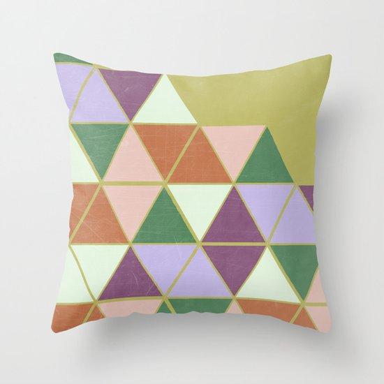 Hexaflexagon Throw Pillow