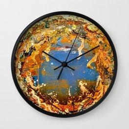 Paradis Perdu Wall Clock