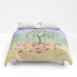 Just a tree Comforters