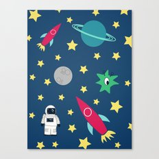 Space Objective Canvas Print