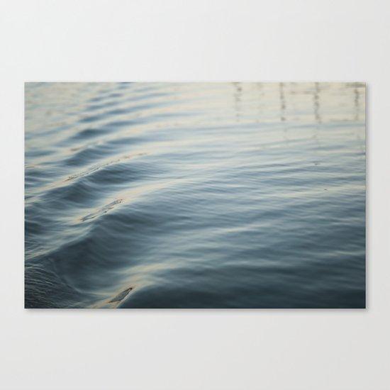 Water Ripple Canvas Print