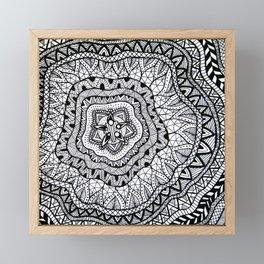 Doodle1 Framed Mini Art Print
