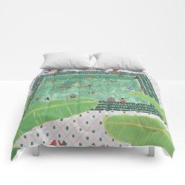 Green Riad Comforters