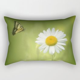 Daisy in the Meadow 2 Rectangular Pillow
