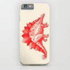 Red Stegosaurus  Slim Case iPhone 6