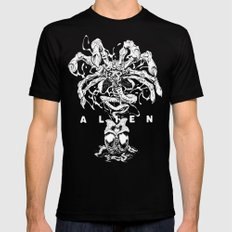 ALIEN: FACEHUGGER Black X-LARGE Mens Fitted Tee