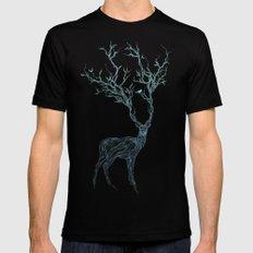 Blue Deer Mens Fitted Tee MEDIUM Black