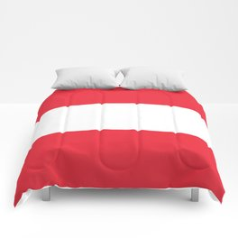 Flag of  Austria - High quality HD authentic version Comforters