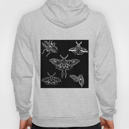 Flying Insect Themed Illustration Hoody
