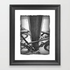 Lock Down Framed Art Print