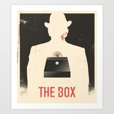 The Box - Movie Poster Art Print