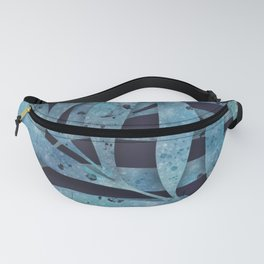 Watercolor Ferns Fanny Pack