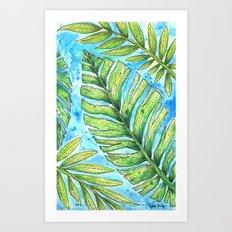Tropical Healing Art Print
