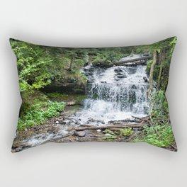 Wagner Falls, Munising, Michigan Rectangular Pillow