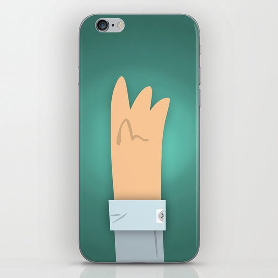 Lefty iPhone & iPod Skin
