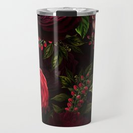 Mystical Night Roses Travel Mug