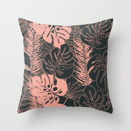 Tropical pattern 034 Throw Pillow