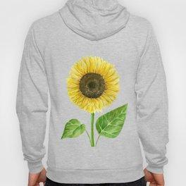 Sunflower watercolor Hoody