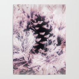 White Pine, Christmas Snowfall Poster