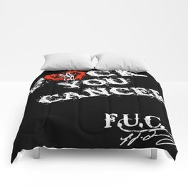 FUC Cancer T-Shirt Comforters
