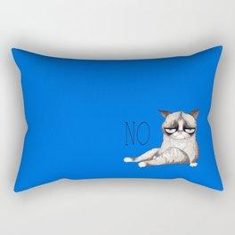 My Grumpy Cat 5 Rectangular Pillow