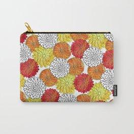 Dahlia Garden Summer Carry-All Pouch