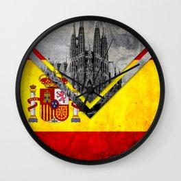 Flags - Spain Wall Clock