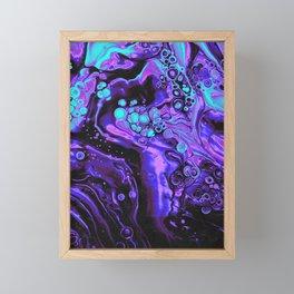 BLACK FLAG Framed Mini Art Print