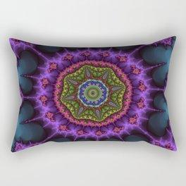 Fractal Octagram Rectangular Pillow