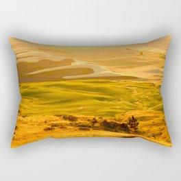 Palouse at Sunset Rectangular Pillow