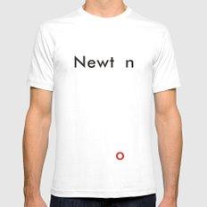 Newton Mens Fitted Tee White MEDIUM