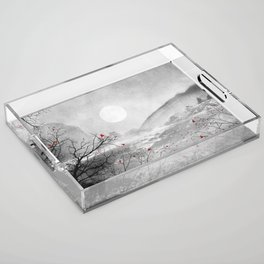 The red sounds and poems, Chapter II Acrylic Tray