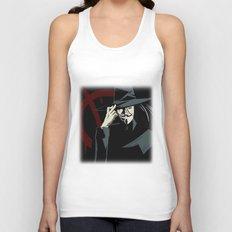 V for Vendetta (e1) Unisex Tank Top