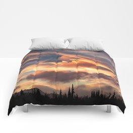 Good Morning Anchorage, Alaska Comforters
