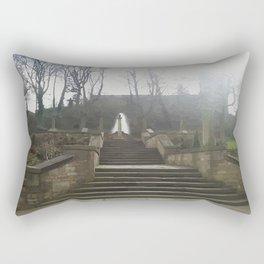St Chad's Parish church rochdale Rectangular Pillow