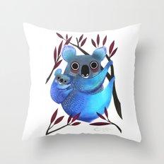 Koala Love Throw Pillow