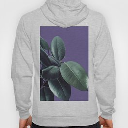 Ficus Elastica Ultra Violet #2 #decor #art #society6 Hoody