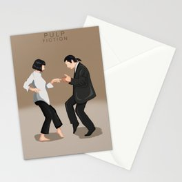 Pulp fiction dance Stationery Cards