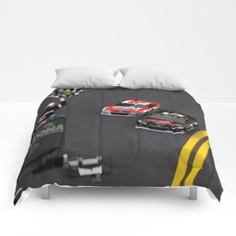 #Earnhardt Sr. & Jr. 1st Daytona 500 win. Comforters