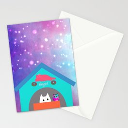 cat 242 Stationery Cards