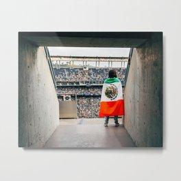 Mexican soccer Metal Print