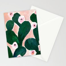 Cactus Bloom Stationery Cards