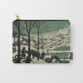 HUNTERS IN THE SNOW - BRUEGEL Carry-All Pouch