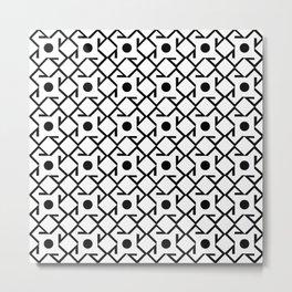 Antic pattern 8- from LBK Metal Print