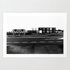 bruce highway. Art Print