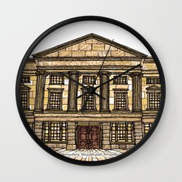 Shrewsbury Museum and Art Gallery, Sepia Wall Clock