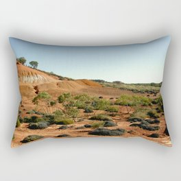 Lark Quarry - Outback Australia Rectangular Pillow