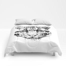 Himalayan Clouded Leopard Comforters