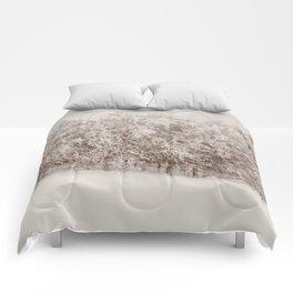 Snow Falling on Cedars Comforters
