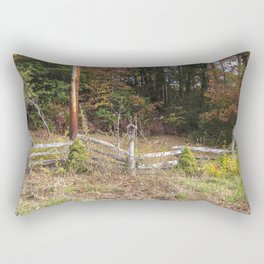 Three bird houses  Rectangular Pillow